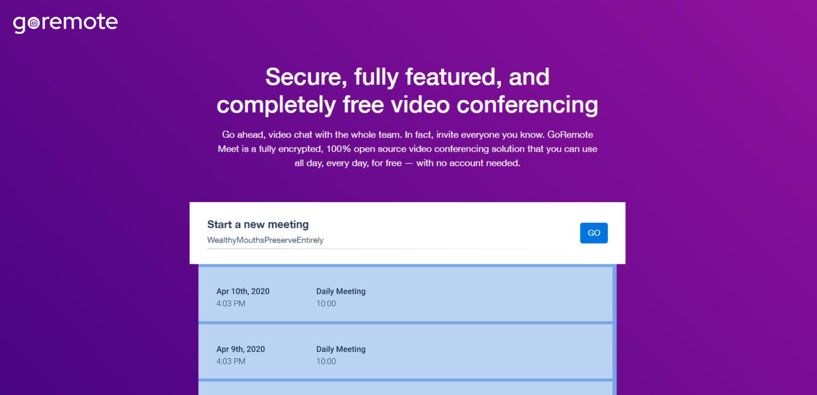 URL di riunione personalizzati